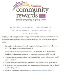FM Rewards program for NMA
